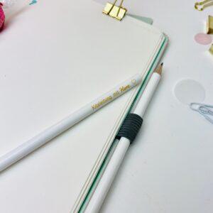 Kitaleitung mit Herz - Bleistift